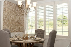 NewStyle® Hybrid Shutters in the Dining Room