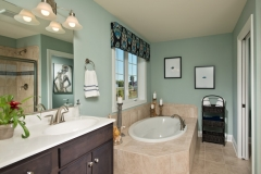 Custom Cornice in the Bathroom