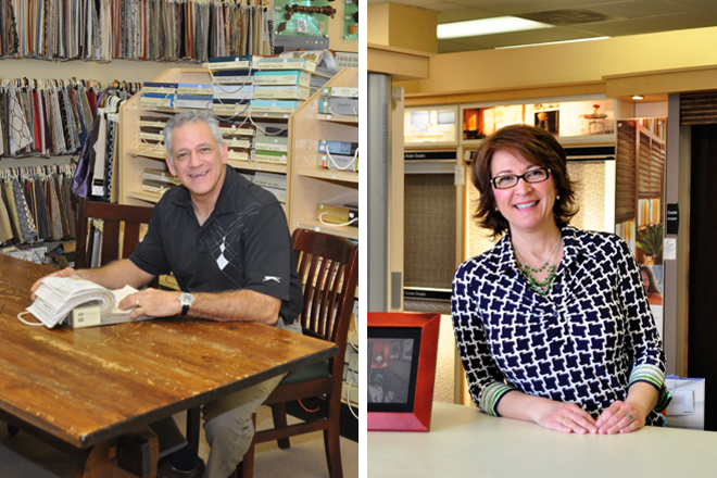 Brother & Sister Kevin & Nancy, Co-Owners of Classic Interiors Keep the Family Tradition Going