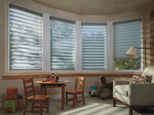 Silhouette® Window Shadings in a Child's Room