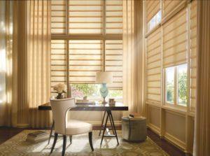 Vignette® Modern Roman Shades in the Bedroom