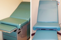 Before and After Doctors Exam Table