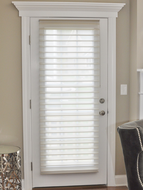 Silhouette® Window Shadings on Side Door