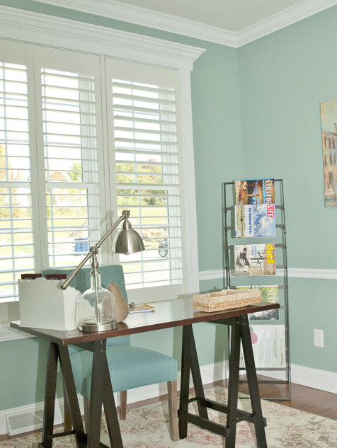 Newstyle® Hybrid Shutters in the Office