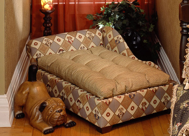Custom Dog Bed and Pillow