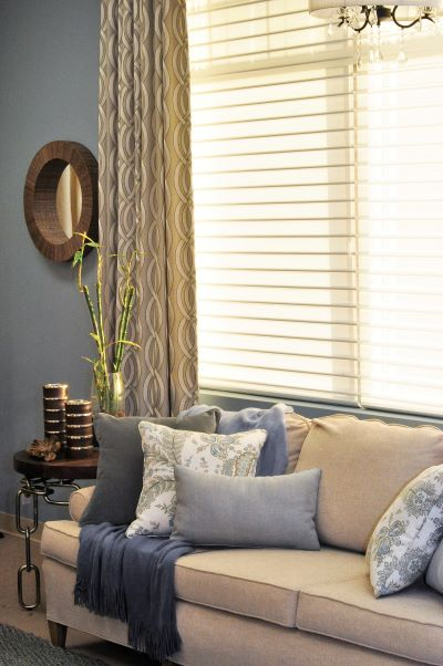 Custom Draperies and Silhouette® Window Shadings