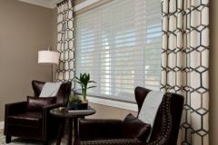 Custom Draperies and Silhouette® Window Shadings