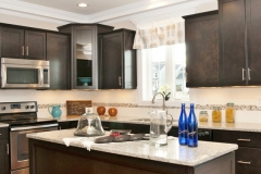 Custom Valance in the Kitchen