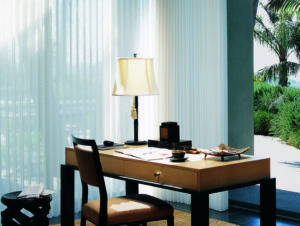 Luminette® Privacy Sheers in the Office