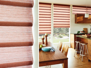 Vignette® Modern Roman Shades in the Kitchen